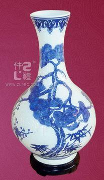 青花瓷花瓶A款,ZLSJ11