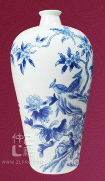 青花瓷花瓶C款,ZLSJ12
