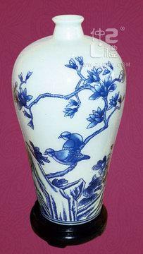 青花瓷花瓶D款,ZLSJ13