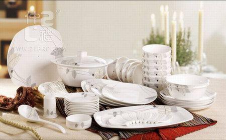 56头秋日物语-银方形餐具